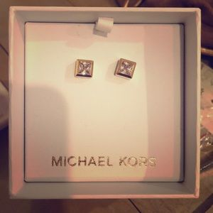 Jewelry - Michael Kors gold earrings